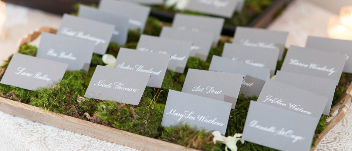 Wedding Calligraphy - place card