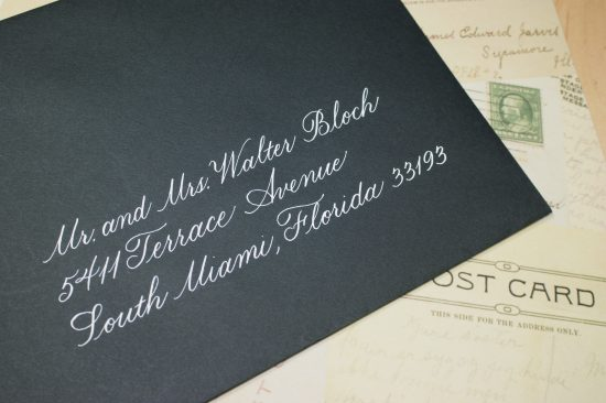 Hand lettered style Copperplate