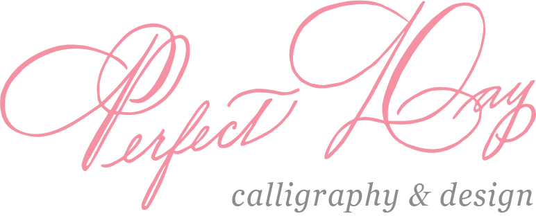 Perfect Day Calligraphy logo